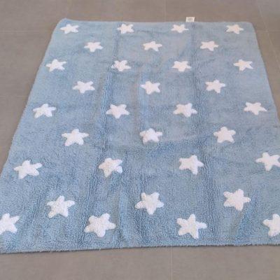 Tapete estrelas azul